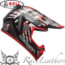 bell motocross helmet bell mx9 mips tagger double trouble black red motocross enduro