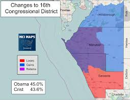 Map Of North Port Florida by The Complete Breakdown Of Florida U0027s Proposed Congressional