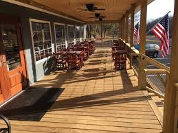 outdoor seating under the covered porch picture of sperryville