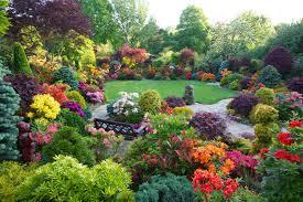 beautiful home flower gardens wallpaper