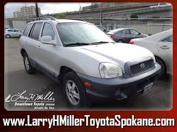 2003 hyundai santa fe recalls used 2003 hyundai santa fe for sale in spokane wa vin