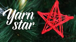 diy yarn star youtube
