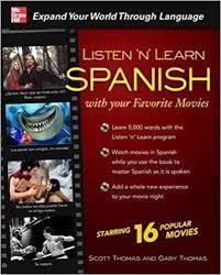 amazon com listen u0027n u0027 learn spanish with your favorite movies