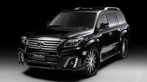 lexus gx 750 lexus lx is wald s black bison autoevolution
