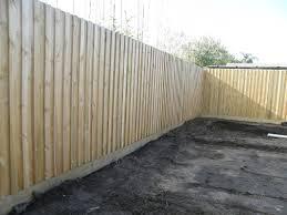 treated pine boundary fence builder jpg