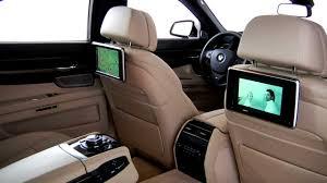 bmw 7 series rear seat entertainment youtube