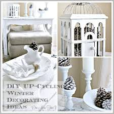 Cycling Home Decor Diy Up Cycling Winter Decorating Ideas Home Decor Design Diy At