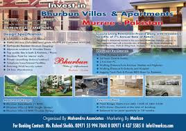 invest in bhurban villas and apartments