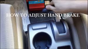 honda crv brake how to adjust brake parking brake honda crv 2007 2010