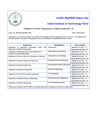 indian institute of technology iit patna admissions