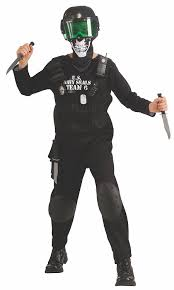 Navy Halloween Costume Amazon Black Seal Team 6 Costume Accessories