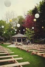 How To Decorate A Backyard Wedding Best 25 Small Backyard Weddings Ideas On Pinterest Pond Wedding