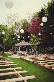 Outdoor Backyard Wedding Best 25 Small Backyard Weddings Ideas On Pinterest Small
