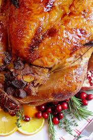 top 10 simple turkey recipes best easy thanksgiving dinner cooked and tangerine glazed roasted turkey kitchen
