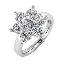 flower shaped rings images Pictures of flowral shaped diamond rings very pretty flower shaped jpg
