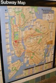 Map Of New York Subway With Streets by Dak Commercial Realty Llc Ny
