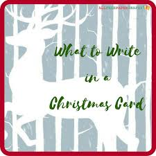 what to write in a christmas card cards christmas cards and