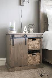 Barn Door Cabinets Sliding Barn Door Nightstand Diy Shanty 2 Chic