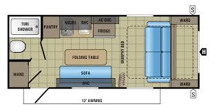 2017 jay feather 7 18rbm floorplan go pinterest best jay ideas
