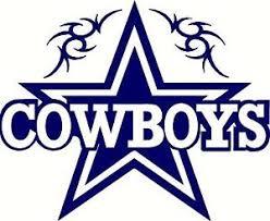 dallas cowboys decals football nfl ebay