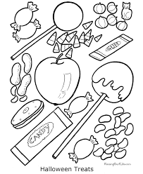 halloween coloring book pages kids 011