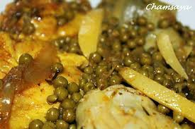cuisiner coeur d artichaut recette de tajine de poulet aux petits pois et fonds d artichauts