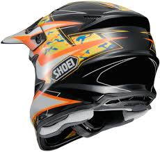 orange motocross helmet 404 33 shoei vfx w turmoil dot approved motocross mx 995196