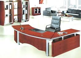 Executive Desk Office Furniture Small Executive Desk With Drawers Cherry Wood Simple Solid Office