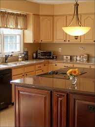 white oak wood nutmeg shaker door ashley furniture kitchen island
