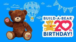 build a bear workshop celebrates its 20th birthday and releases a