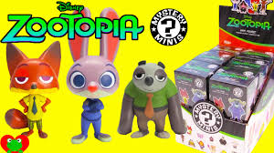 Where To Buy Blind Boxes Zootopia Mystery Minis Blind Boxes Youtube