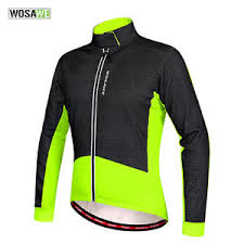 windproof cycling jackets mens mens windproof cycle coat cycling jersey winter thermal fleece