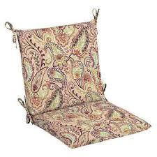 Patio Chair Cushions Cheap Paisley Hton Bay Outdoor Cushions Patio Furniture The