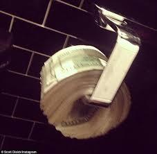 Toilet Paper Roll Meme - disick toilet paper roll of money