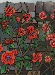 Glass Rose Stained Glass Roses By Imaginings On Storybird