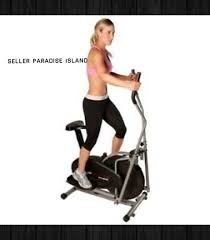 2 in 1 elliptical cross trainer cardio exercise fitness stair step