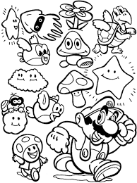 mario coloring pages games boys coloring pages mario coloring