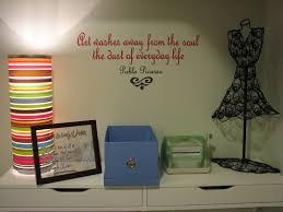 craft room wall decor u2013 creation home