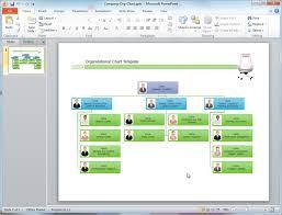 microsoft powerpoint org chart template org chart template