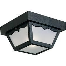 Outdoor Flush Mount Ceiling Lights Progress Lighting 1 Light White Outdoor Flushmount P5744 30 The