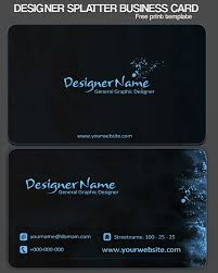 free business card templates to download 6 business cards