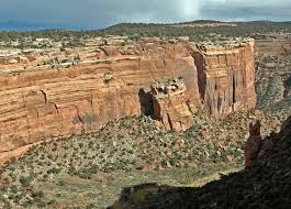 Colorado National Monument Map by Cold Shivers Point Overlook Outthere Colorado