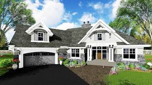 exciting craftsman house plan 14649rk architectural designs