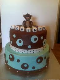 monkey baby shower cake 151 best monkey baby shower cakes images on baby
