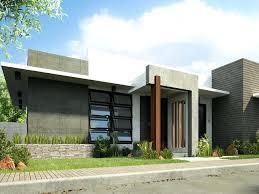one storey modern house design simple modern house design