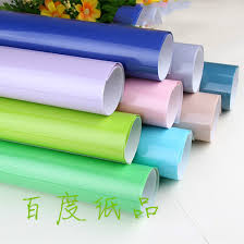 solid color wrapping paper home festive supplies event party gift bags solid color wrapping