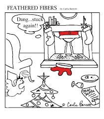 christmas cartoon carla barrett