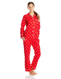 bottoms out s cotton flannel pajama set at s