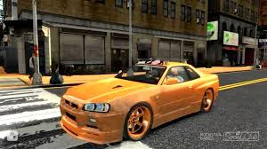 stanced nissan skyline gta iv nissan skyline gt r r 34 stance youtube