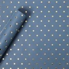 gold foil wrap sugar paper gold foil signature dot on blush wrapping paper